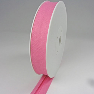 Single Fold Bias Binding 30mm Bubblegum (25m roll)
