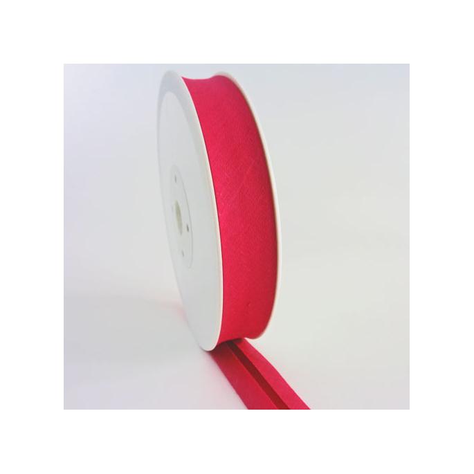 Single Fold Bias Binding 30mm Fushia Pink (by meter)