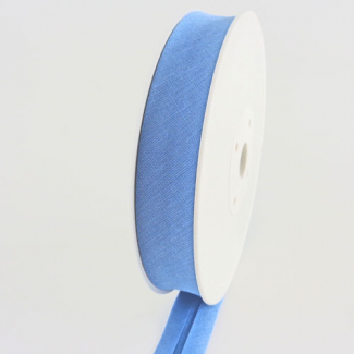 Single Fold Bias Binding 30mm Sky Blue (25m roll)