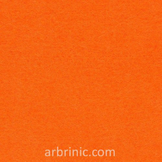 Felt Sheet A4 Orange