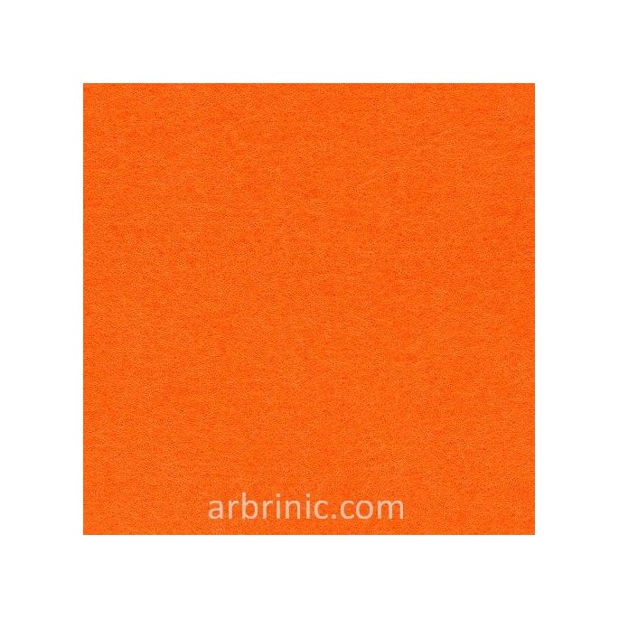 Feutrine Feuille A4 Orange
