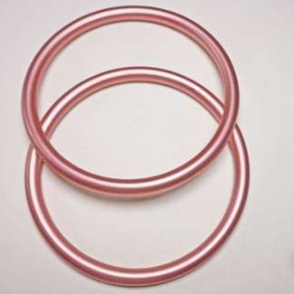 Anneaux de portage Rose Taille L (1 paire)