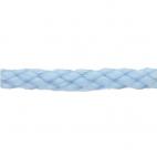 Braided Poly Cord 5mm Light Blue (50m roll)