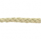 Braided Poly Cord 5mm Natural (50m roll)