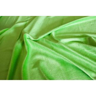 Velours de bambou vert lime
