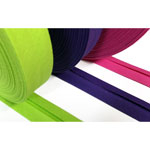 Bias binding cotton solids
