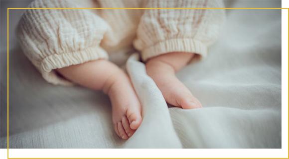 tissu coton bio pour bébé