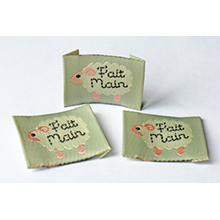 Woven lables and deco tags
