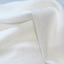 Tencel microéponge blanc