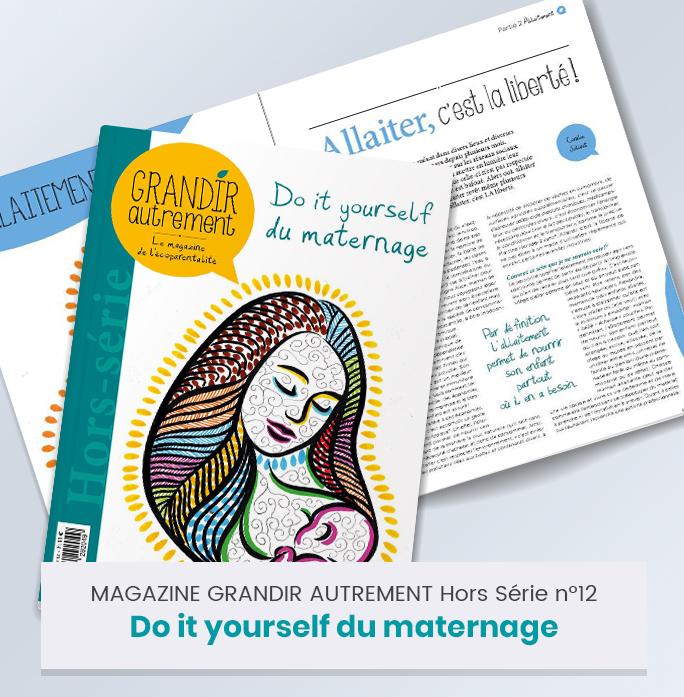 Nouveau Hors Série spécial Maternage Grandir Autrement